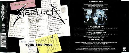 Metallica - Turn The Page (1998, CD-Single)