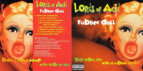 Lords of Acid - Rubber Doll (1997 Antler Subway Records, Never Records, Disctronics, USA)