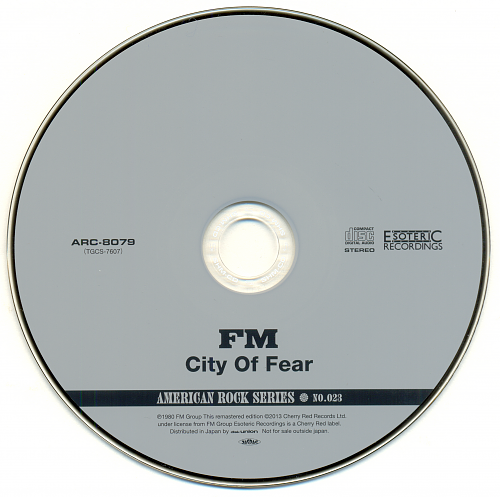 FM - City Of Fear (1980)