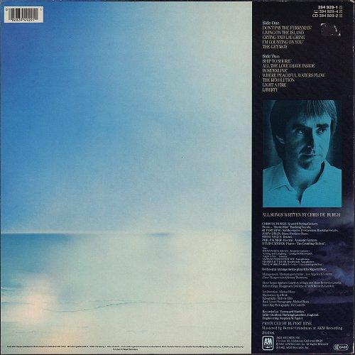 Chris de Burgh - The Getaway (1982)