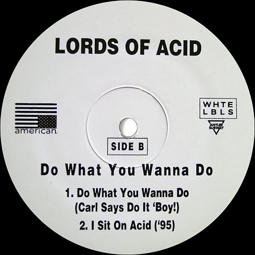 Lords of Acid - Do What You Wanna Do (1995) [American Rec., Antler-Subway, WHTE LBLS, USA, 0-43560]