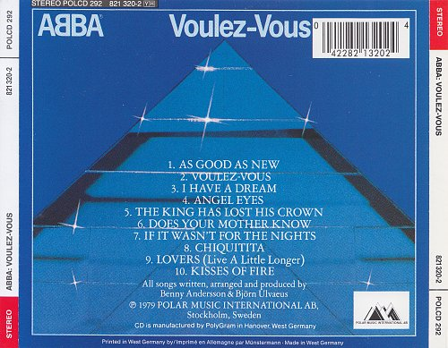 ABBA - Voulez-Vous (1979) [Polydor - 821 320-2]