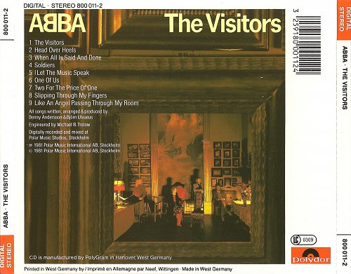 ABBA - The Visitors (1981) [Polydor - 800 011-2]