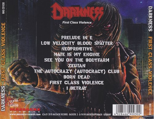 Darkness - First Class Violence (2018)