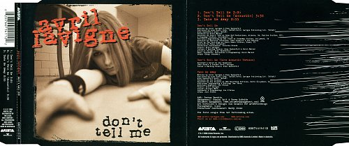 Avril Lavigne - Don't Tell Me (2004, CD-Single)
