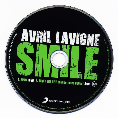 Avril Lavigne - Smile (2011, CD-Single)
