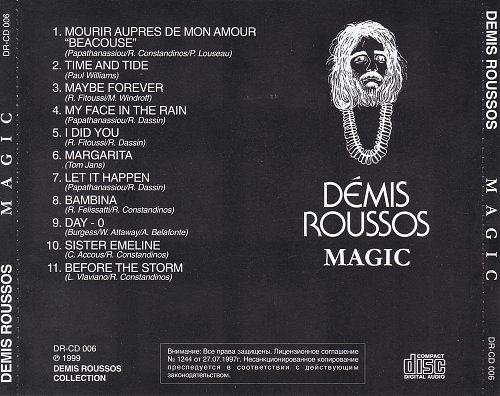 Demis Roussos - The Demis Roussos Magic (1977) [DR-CD 006]