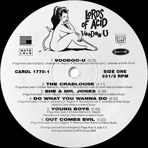 Lords of Acid - Voodoo-U (1994) [Antler-Subway Rec., American Rec., WHTE LBLS, Caroline Rec., USA)