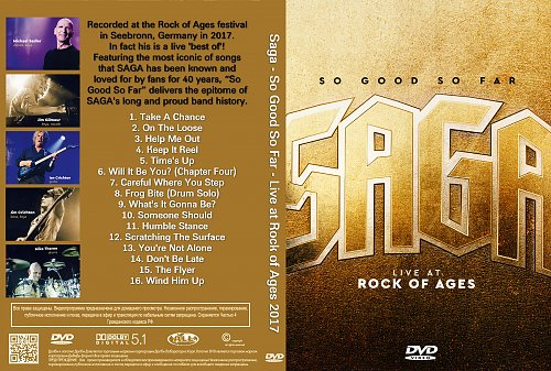 Saga - So Good So Far - Live at Rock of Ages (2018)
