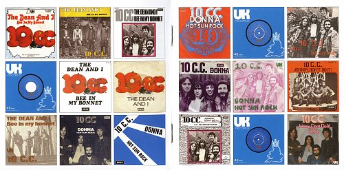 10cc - The U.K. Records Singles Collection (2007)