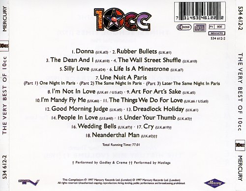 10cc - The Very Best Of 10cc (1997)