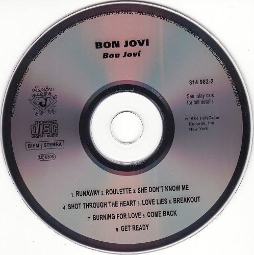 Bon Jovi - Bon Jovi 1984