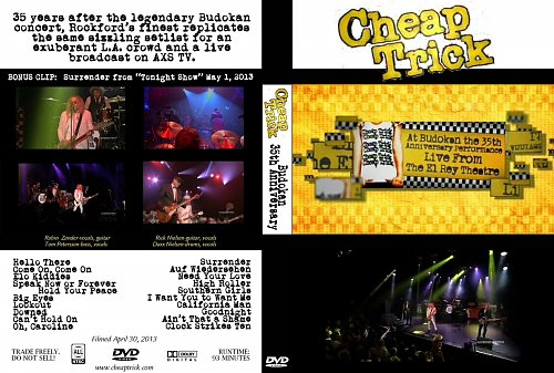 Cheap Trick - Budokan 35th Anniversary (2013)