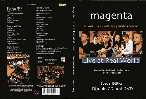 Magenta - Live at Real World (2011)