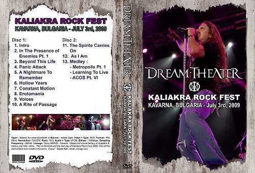 Dream Theater - 2009-07-03 Kaliakra Rock Fest