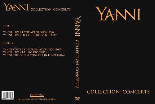 Yanni collection concerts