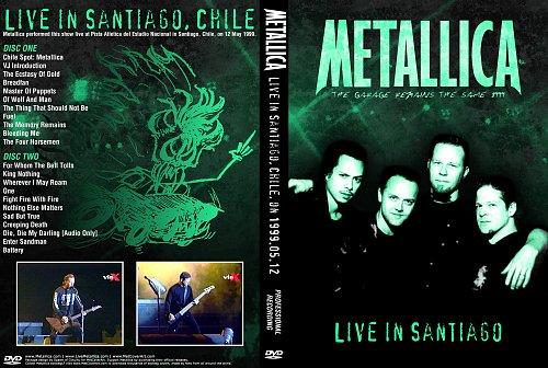 Metallica ''Santiago 1999'' (Despodricio-RZK-Zarko) 2xDVD5