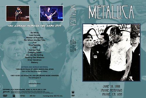 Metallica ''1999-06-19 - Irvine Meadows Amphitheatre, Irvine, CA, USA'' (Elmoz)