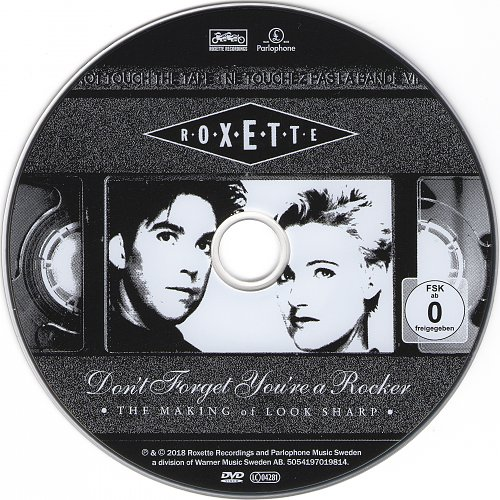 Roxette - Don't Forget You're A Rocker. The Making Of Look Sharp! (2018)