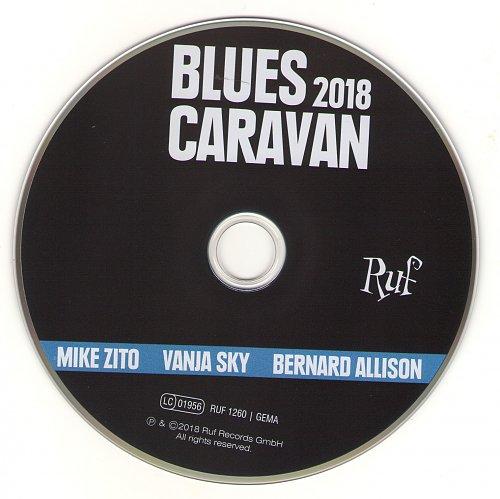 Mike Zito, Vanja Sky, Bernard Allison - BluesCaravan 2018 (2018)