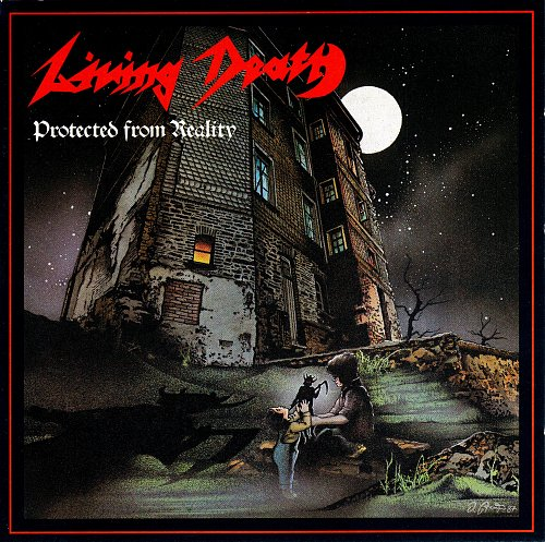 LIVING DEATH - Protected from reality (1987) Austria - 2 press