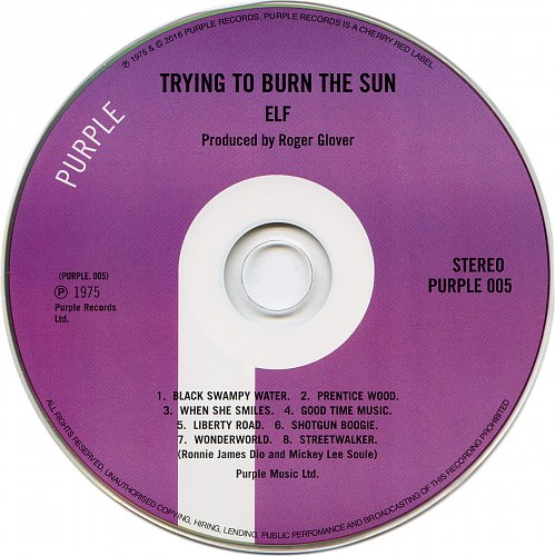 Elf - Trying To Burn The Sun (1975)