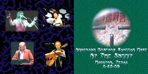 ABWH (Anderson Bruford Wakeman Howe) - At The Summit (28.08.1989) 2CD