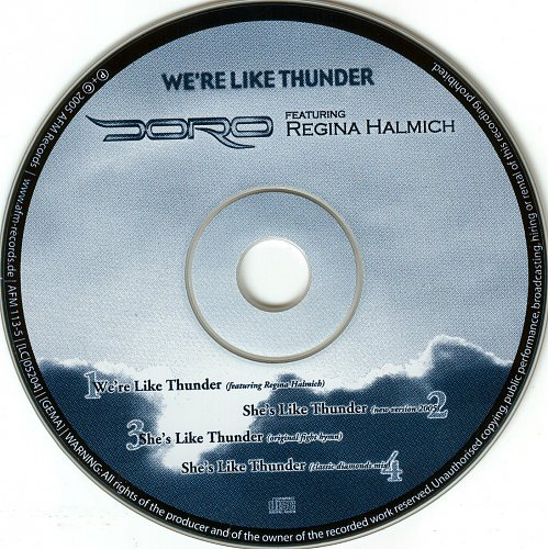Doro - We're Like Thunder (2005)