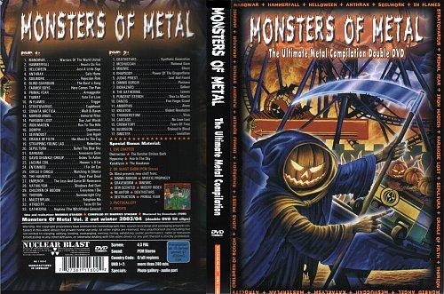 Monsters Of Metal Vol. 1 (2003) (Nuclear Blast DVD)