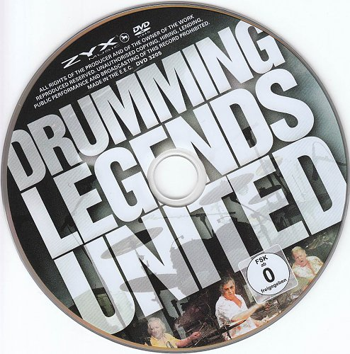 Drumming Legends - United (2012)