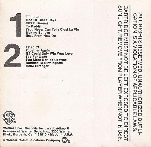 Emmylou Harris - Profile / Best Of Emmylou (1978) [Warner Bros. Records – M5 3258, US]
