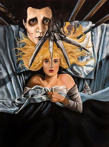 Эдвард руки-ножницы / Edward Scissorhands (1990)