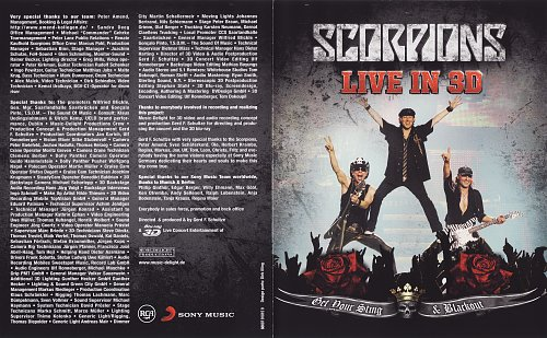 Scorpions - Get Your Sting & Blackout - Live in 3D (2011)