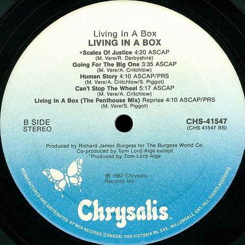 Living In A Box - Living In A Box (1987)