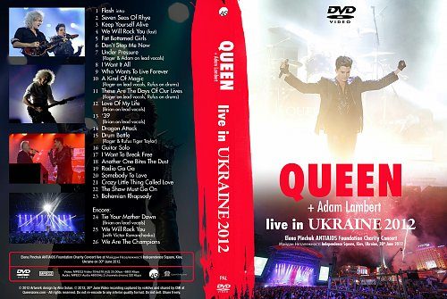 Queen+Adam Lambert - Live In Kyiv
