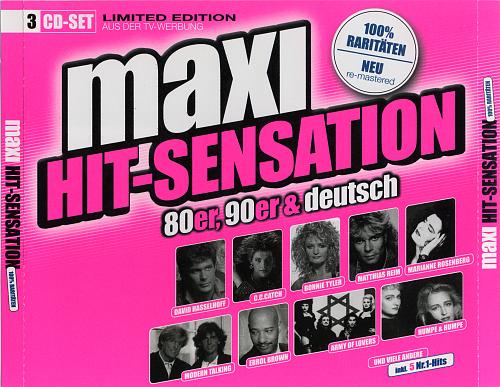 Maxi Hit-Sensation 80er, 90er & Deutsch (2005)