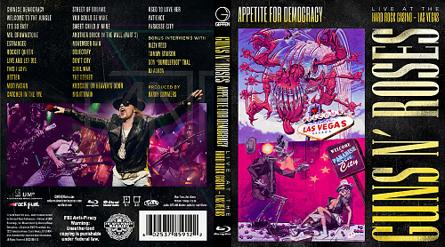 Guns N`Roses - Appetite for Democracy - Live at the Hard Rock Casino, Las Vegas 3D (2014) Blu-ray 3D