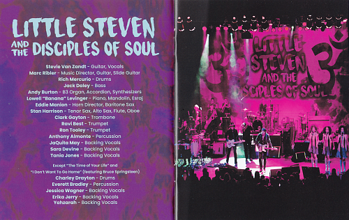 Little Steven and The Disciples of Soul - Soulfire Live! (2019)