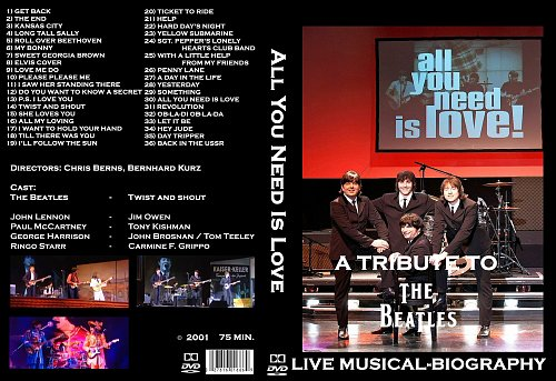 All You Need Is Love - Tribute to the Beatles (2011)