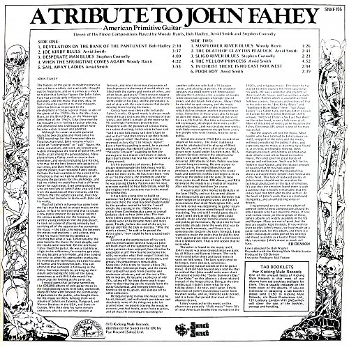 A Tribute To John Fahey - American Primitive Guitar (1979)