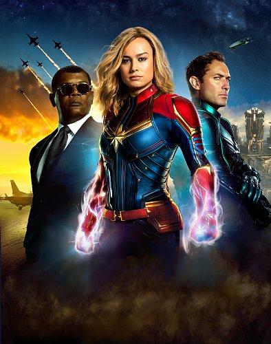 Капитан Марвел / Captain Marvel (2019)