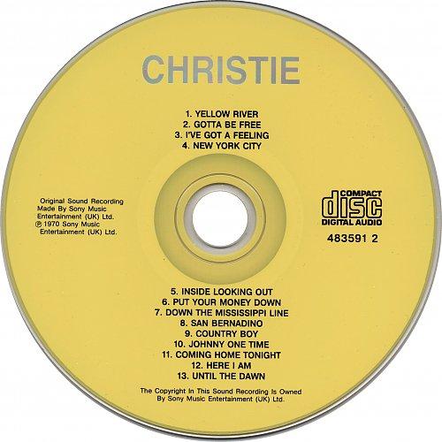Christie - Christie (1970) [Columbia–483591 2, Russia]