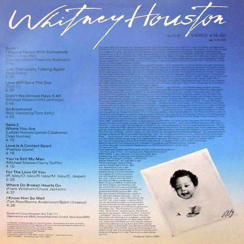 Whitney Houston - Whitney, (1989) DDR