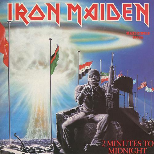 Iron Maiden - 2 Minutes To Midnight (1984) EP