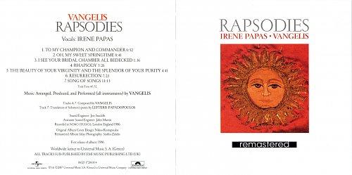 Irene Papas • Vangelis - Rapsodies (1986)