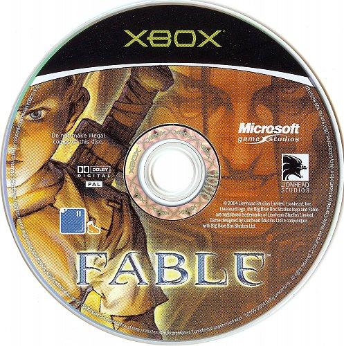 Fable Xbox PAL Nordic