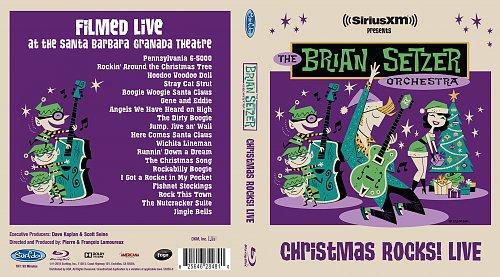 The Brian Setzer Orchestra - Christmas Rocks! Live (2018)