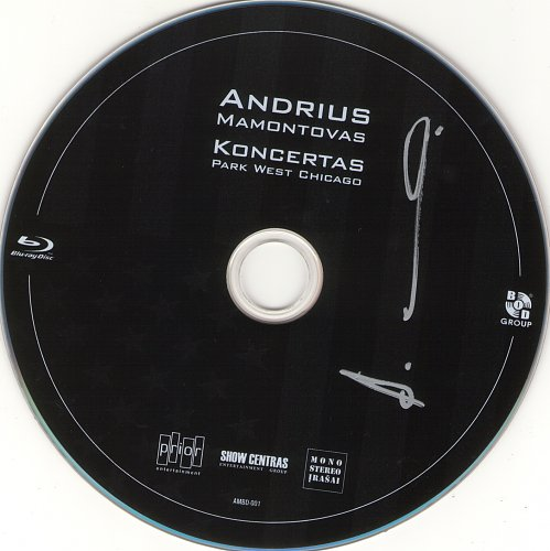 Andrius Mamontovas - Koncertas Park West Chicago (2011)