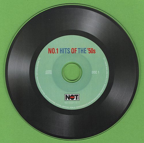 No.1 Hits Of The '50s (2013)