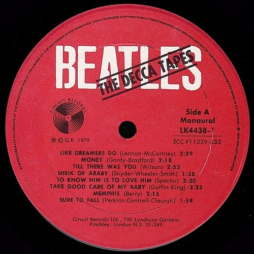 The Beatles - The Decca Tapes (1979)